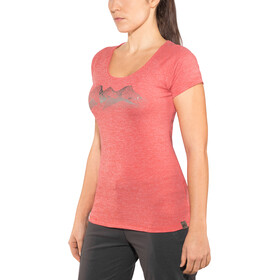 Millet Itasca T-shirt à manches courtes Femme, hibiscus